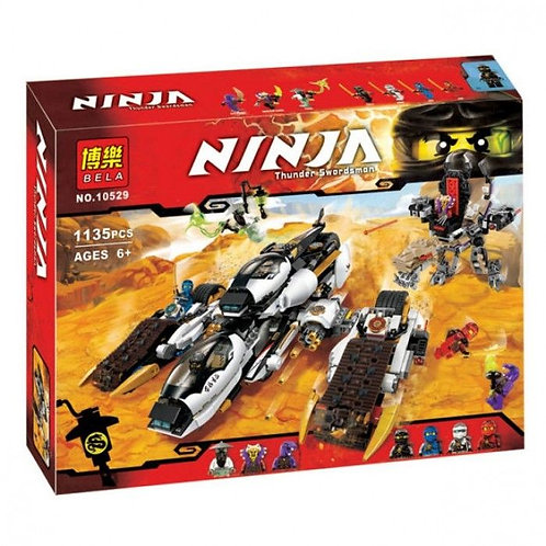 Коробка аналог Lego Ninjago Внедорожник с суперсистемой маскировки | 70595 | LEGOREPLICA