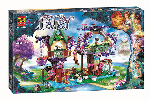Коробка аналог Lego Elves Дерево эльфов | 41075 | LEGOREPLICA