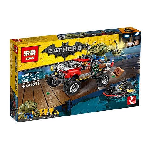 Коробка аналог Lego Batman Movie Хвостовоз Убийцы Крока | 70907 | LEGOREPLICA
