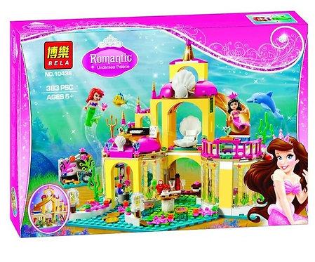 Коробка BELA Disney Подводный дворец Ариэль   41063   IQREPLICA