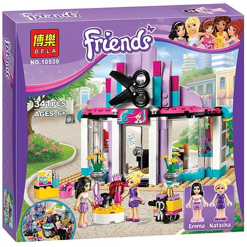 Коробка аналог Lego Friends Парикмахерская | 41093 | LEGOREPLICA