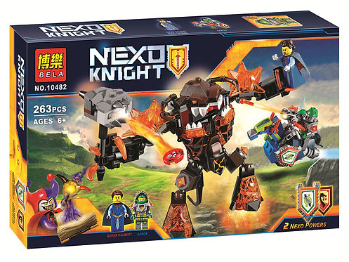 Коробка аналог Lego Nexo Knights Инфернокс и захват королевы | 70325 |  LEGOREPLICA