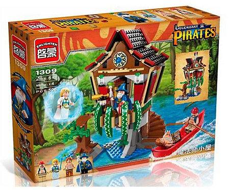 Коробка BRICK Pirates Хижина Чародея | IQREPLICA
