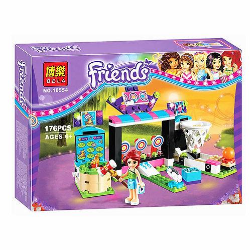 Коробка аналог Lego Friends Парк развлечений: игровые автоматы | 41127 | IQREPLICA
