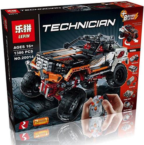 Коробка аналог Lego Technic Внедорожник 4x4 Crawler | 9398 | LEGOREPLICA