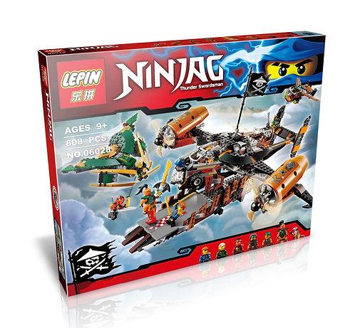 Коробка аналог Lego Ninjago Цитадель несчастий   70605   LEGOREPLICA