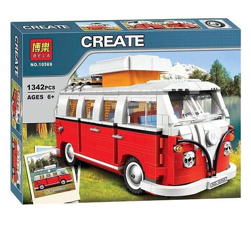 Конструктор BELA Туристический автобус T1 | 10220
