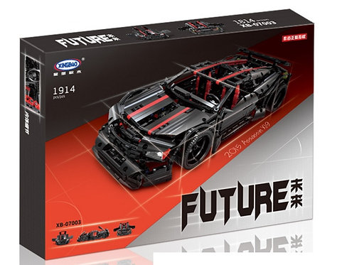 Коробка XINGBAO Technic Muscle Car Ассасин X19 | MOC-3260 | IQREPLICA