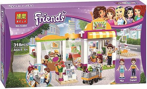 Коробка аналог Lego Friends Супермаркет Хартлейк Сити   41118   LEGOREPLICA