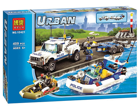 Коробка аналог Lego City Полицейский патруль   60045   LEGOREPLICA