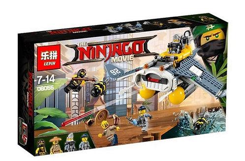 "Коробка LEPIN Ninjago Series Бомбардировщик ""Морской дьявол"" | 70609 | IQREPLICA"