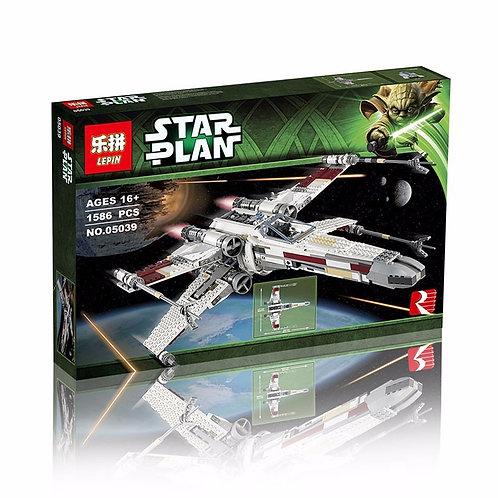 Коробка аналог Lego Star Wars Истребитель X-WING RED FIVE | 10240 | LEGOREPLICA
