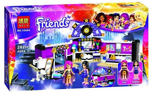 Коробка аналог Lego Friends Поп звезда: гримерная   41104   LEGOREPLICA