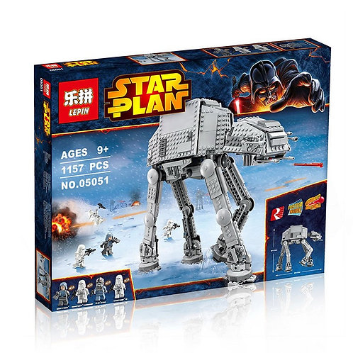 Коробка аналог Lego Star Wars Имперский Шагоход AT-AT | 75054 | 4483 | 8129 | LEGOREPLICA