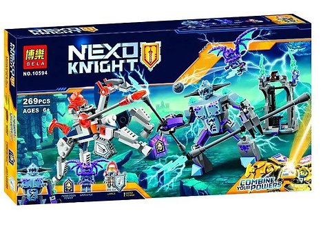 Коробка BELA Nexo Knights Ланс против Монстра-Молнии | 70359 | IQREPLICA