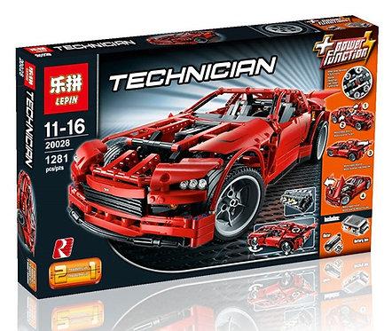 Коробка аналог Lego Technic Суперавтомобиль (Super car) | 8070 | LEGOREPLICA