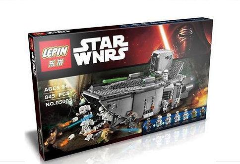 Коробка аналог Lego Star Wars Транспорт Первого Ордена | 75103 | LEGOREPLICA