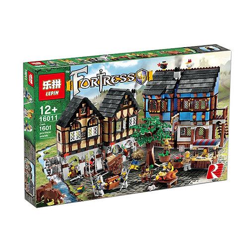 Коробка аналог Lego Castle Средневековый рынок | 10193 | LEGOREPLICA