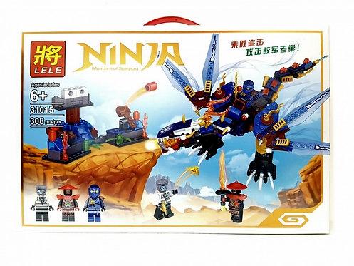 Коробка LELE Ninjago Синий дракон Джея | IQREPLICA