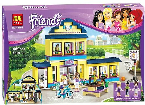 Коробка аналог Lego Friends Школа Хартлейк Сити | 41005 | LEGOREPLICA