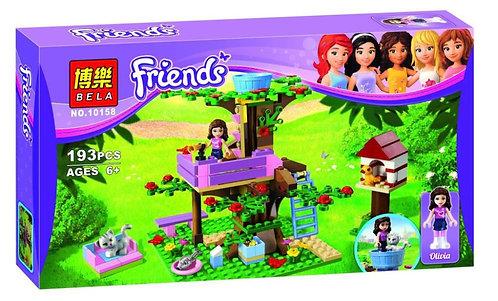 Коробка аналог Lego Friends Домик Оливии на дереве | 3065 | LEGOREPLICA