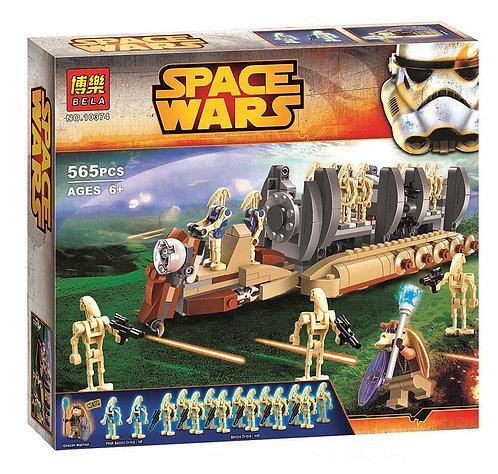 Коробка аналог Lego Star Wars Перевозчик боевых дроидов   75086   LEGOREPLICA