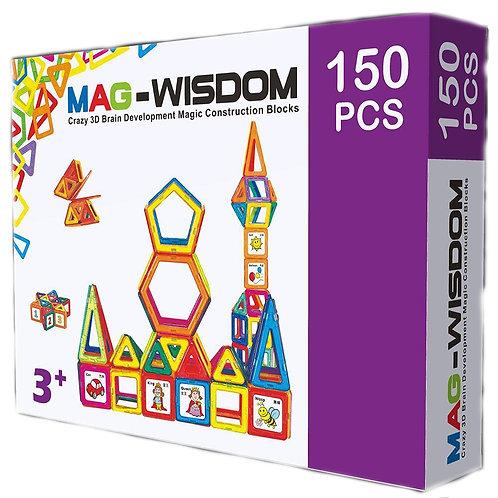 Магнитный конструктор Mag Wisdom Smart Set 150 деталей
