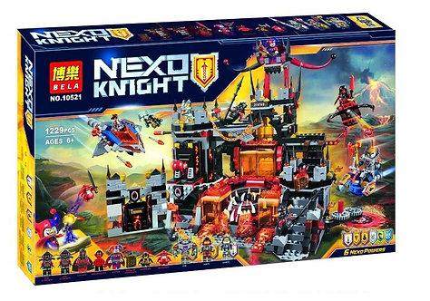 Коробка аналог Lego Nexo Knights Вулканическое Логово Джестро   70323   LEGOREPLICA