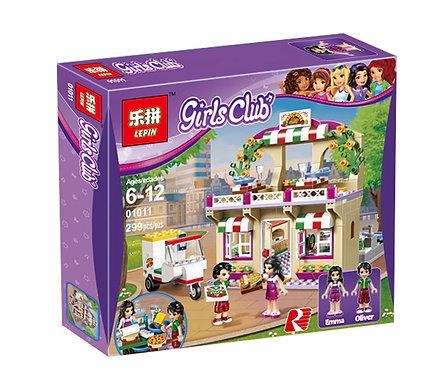 Коробка аналог Lego Friends Пиццерия | 41311 | LEGOREPLICA