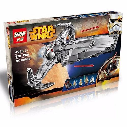 Коробка аналог Lego Star Wars Ситхский Корабль-Разведчик Дарта Мола | 75096 | LEGOREPLICA