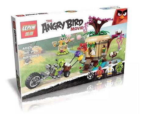 Коробка LEPIN Angry Birds Кража яиц c Птичьего острова | 75823 | IQREPLICA