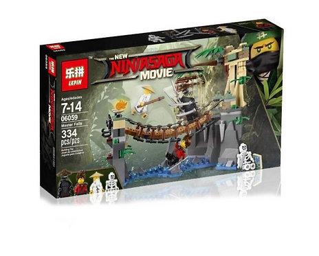Коробка LEPIN Ninjago Series Битва Гармадона и Мастера Ву   70608   IQREPLICA