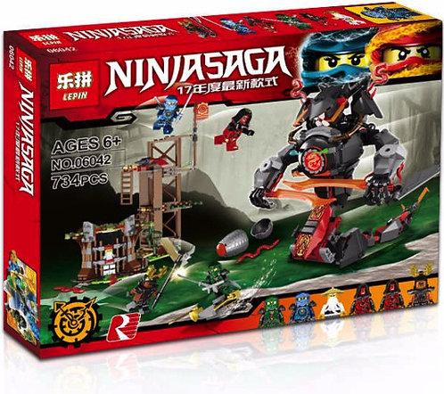 Коробка аналог Lego Ninjago Железные удары судьбы | 70626 | LEGOREPLICA