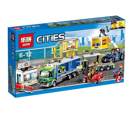 Коробка LEPIN Грузовой терминал | 60169 | IQREPLICA