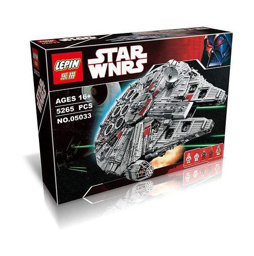 Коробка аналог Lego Star Wars Сокол Тысячелетия Collector's | 10179 | LEGOREPLICA