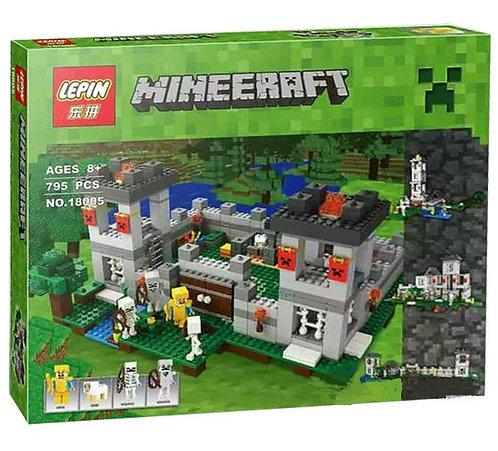 Коробка аналог Lego Minecraft Крепость | 21127 | LEGOREPLICA
