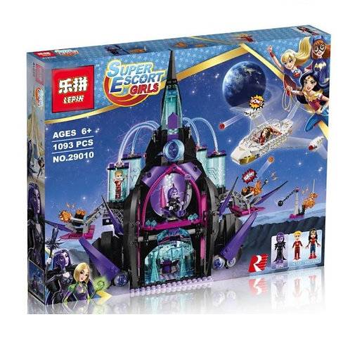 Коробка LEPIN Super Heroes Series Тёмный дворец Эклипсо | 41239 | IQREPLICA