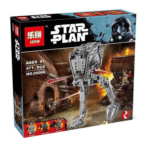 Коробка аналог Lego Разведывательный транспортный шагоход AT-ST   75153   LEGOREPLICA