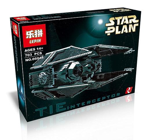 Коробка аналог Lego Star Wars Истребитель TIE Interceptor | 7181 | LEGOREPLICA