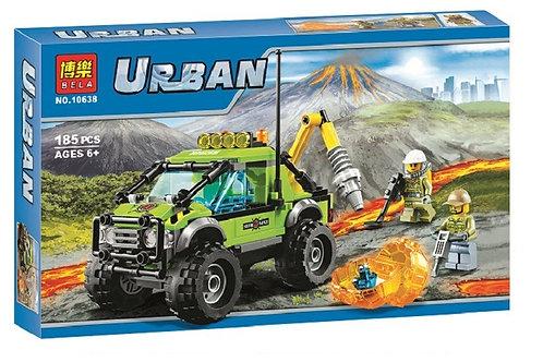 Коробка BELA City Грузовик исследователей вулканов | 60121 | IQREPLICA