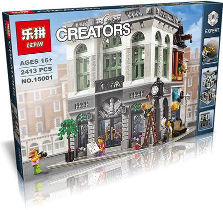 Коробка аналог Lego Creator Брик Банк | 10251 | LEGOREPLICA