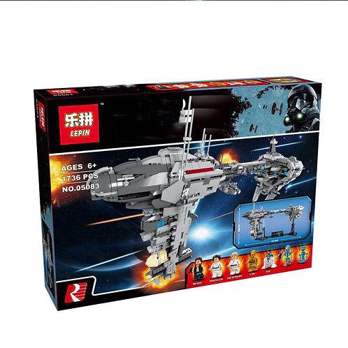 Коробка аналог Lego Star Wars Небулон-Б Медицинский фрегат | MOC-5083 | LEGOREPLICA