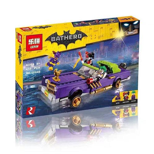 Коробка аналог Lego Batman Movie Series Лоурайдер Джокера | 70906 | LEGOREPLICA