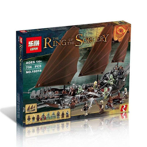 Коробка аналог Lego Lord of the Rings Атака на Пиратский корабль | 79008 | LEGOREPLICA