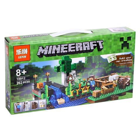 Коробка аналог Lego Minecraft Ферма | 21114 | LEGOREPLICA