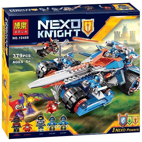 Коробка аналог Lego Nexo Knights Устрашающий разрушитель Клэя | 70315 | LEGOREPLICA