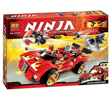 Коробка аналог Lego Ninjago Ниндзя перехватчик Х-1 | 70727 | LEGOREPLICA