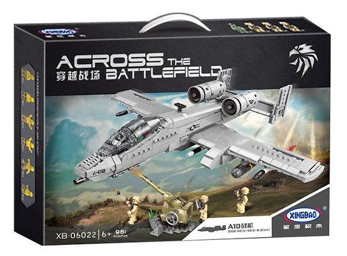 Конструктор XINGBAO Штурмовой самолет A-10 Thunderbolt II