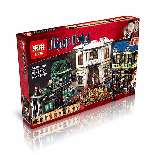 Коробка аналог Lego Harry Potter Косой Переулок | 10217 | LEGOREPLICA