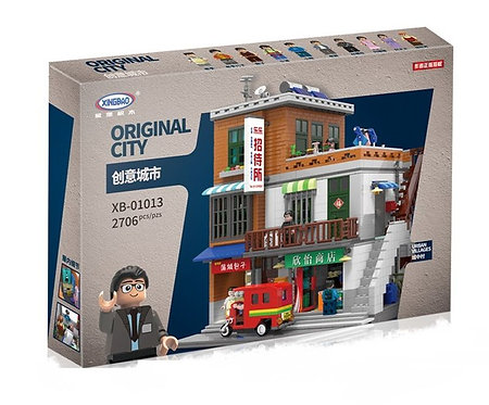 Коробка XINGBAO Creator MOC Городской квартал   IQREPLICA
